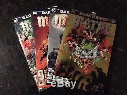 Dark Nights Metal Master Set 1-6 Forge Casting All Covers Tie-Ins One Shots