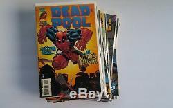 Deadpool (1997 1st Series) Marvel Comic Books Lot of 23 issues