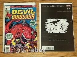 Devil Dinosaur #1(1978) + Moon Girl And Devil Dinosaur #1 Hip Hop Variant