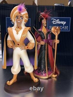 Disney Aladdin Jafar And Prince Ali Enesco couture de force Rare Set