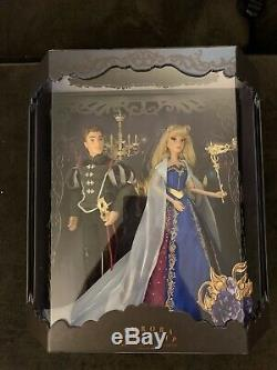 Disney D23 Expo 2019 Masquerade Designer Doll Aurora & prince doll set