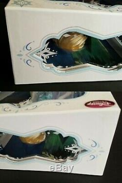Disney Limited Edition Frozen Snow Queen Elsa Coronation Anna Doll Lot