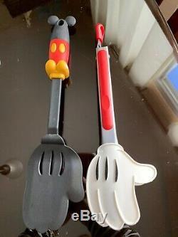 Disney Parks Authentic Original Mickey Mouse Icon B&W Kitchen Decor Lot
