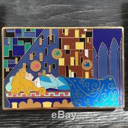 Disney Shopping Store Art Nouveau Jumbo Pin LE 300 7 pins set