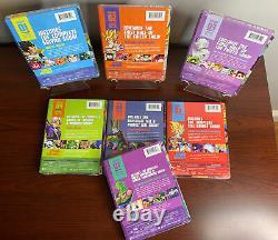 Dragon Ball Z Season 1-7 Steelbook Collection Lot (Blu-ray Disc) Factory Sealed