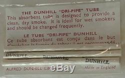 Dunhill 3 Estate Pipes, New in Box w Sock and Paper! 1968 1970 MINT! UNSMOKED