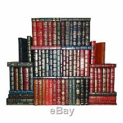 Easton Press Leather Book Collection Lot-100 Greatest Books Ever Written-73 pcs