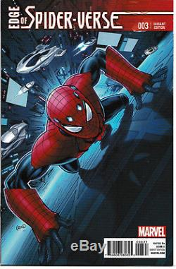 Edge Of Spider-Verse #1 5 ALL Greg Land Variant includes 1st App Spider-Gwen