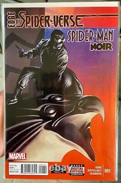 Edge of Spider-Verse #1-5! #2 CGC 9.8 WP First Gwen Stacy ALL First Prints
