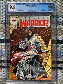 Eternal Warrior 4 CGC 9.8 Rai 0 CGC 9.8 1st Cameo & Full Appearance of Bloodshot