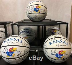 FIFTEEN Ball SIGNED Kansas Jayhawks Mens Basketball KU Ball Collection RARE