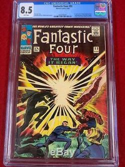 Fantastic Four Black Panther Collection #52, #53, #54 Graded VF-/VF+ by CGC