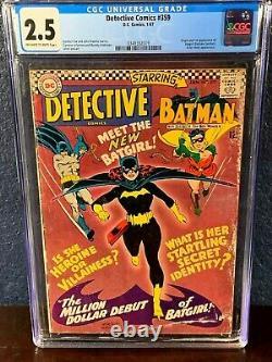 First Appearance BATGIRL Detective Comics 359 Batman 139 1st Gordon Kane CGC Lot