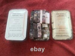 Food Packet, Survival, ST-3 Korean War Bailout ration, one sealed, one opened