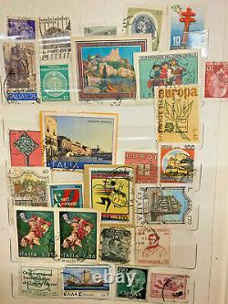 Francobolli rari vintage da tutto il mondo, Rare vintage stamp collection