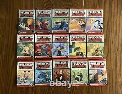 Fullmetal Alchemist Complete Manga Volume 1-27 Set Lot 1st Printing Edition OOP