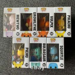 Funko POP! Games FLOCKED Pokémon SET NYCC ECCC SDCC Rare & HTF Limited Edition