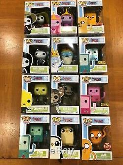 Funko Pop! Adventure Time LOT of 12 Finn Jake, BMO, Lich, EXCLUSIVES & More