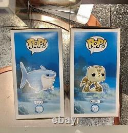 Funko Pop Crush Bruce Finding Nemo MINT Case Fresh Rare