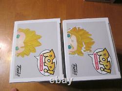 Funko Pop Dragon Ball Z Super Saiyan 2 Gohan 518 & 3 Goku 492 Gitd Gamestop Lot