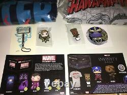 Funko Pop Exclusive Lot Marvel Collector Corps INFINITY SAGA BOX 1 & 2 Ships WW