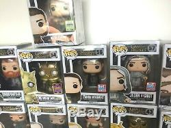 Funko Pop! Game of thrones lot 25 rare vaulted exclusive Jamie Jaqen H'ghar Arya