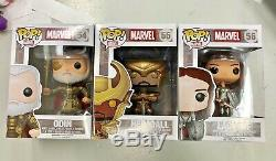 Funko Pop Heimdall Odin Sif Mint Thor Set Rare marvel