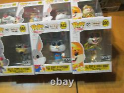 Funko Pop Looney Tunes Taz Sylvester Bugs Lola Bunny Wile Coyote Complete Fye