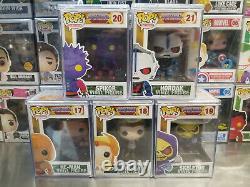Funko Pop! MOTU Spikor #20 He-Man #17 She-Ra #18 Skeletor #19 Hordak #21 NM