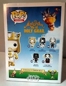 Funko Pop Monty Python and The Holy Grail complete set of 6 Original READ ALL