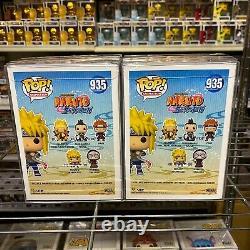 Funko Pop Naruto Minato Namikaze #935 Set of 2 Bundle withChase Vinyl MINT