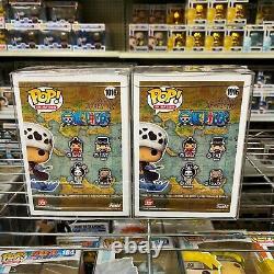 Funko Pop OnePiece Trafalgar Law Chase Bundle AAA Anime Exclusive MINT