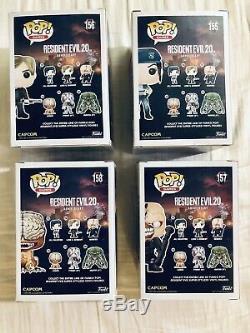 Funko Pop Resident Evil Set Jill Leon Licker Nemesis Mint
