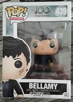 Funko Pop! The 100 Lot of 4 Bellamy, Lincoln, Raven, & Clarke NEW IN BOXES