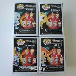 Funko Pop Thundercats Mumm-Ra, Lion-o, Panthro, Cheetara Set