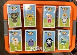 Funko Pop lsp pb jake lich ice king cake bmo marceline Adventure Time Set Mint