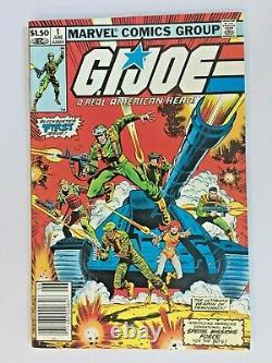 GI Joe comic book number 1, 2, 3 LOT OF 3 BOOKS GRADE 9 VF/NM FREE SHIP cont US