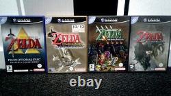 Gamecube Legend of Zelda Collection (PAL set)