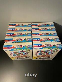 General Mills Cinnamon Toast Crunch POKEMON 25th Anniversary PIKACHU LOT of 10