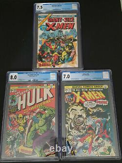 Giant Size X-Men 1 Uncanny X-Men 94 Incredible Hulk 180 180 Wolverine Marvel