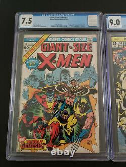 Giant Size X-Men 1 Uncanny X-Men 94 Incredible Hulk 180 181 Wolverine Marvel