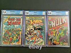 Giant Size X-Men 1 Uncanny X-Men 94 Incredible Hulk 181 Wolverine Marvel