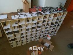 Gros lot de lampes pour radio/TV/emetteur/ ELECTRONIC TUBES/ RADIO LAMP