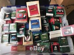 HUGE Hallmark Keepsake Ornaments Large Lot Of 463 Wholesale Liquidation