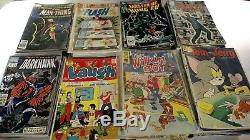 HUGE LOT of 300+ golden age to modern age comic books marvel dc dell archie lots