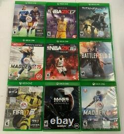 HUGE WHOLESALE Lot of 67 Xbox One Games Fast Shipping Instant Collection