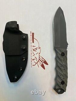Half face blades Disaster Jr knife
