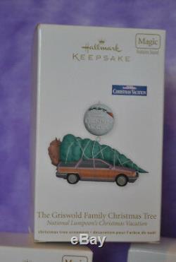 Hallmark Lot of 6 National Lampoon Christmas, 2009 Cousin Eddie's Rv, + 5 more