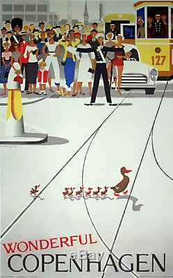Hans Bolling Duck & Duckling MID Century Modern Era Danish Modern Stunning
