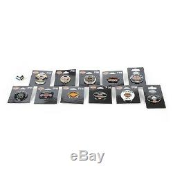 Harley-Davidson Tel-Aviv Israel Collectors 12 Different Metal Pins